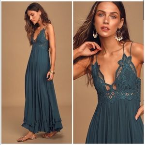 NWT Free People Adella Maxi Dress